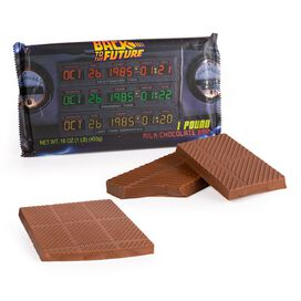 Back To The Future 1 Pound Chocolate Bar