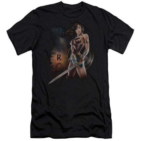 Wonder Woman Movie Fierce Hbo Short Sleeve Adult T-Shirt