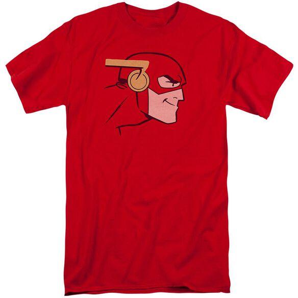 Jla Cooke Head Short Sleeve Adult Tall T-Shirt