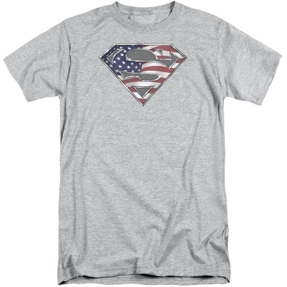 Superman All Short Sleeve Adult Tall Athletic T-Shirt