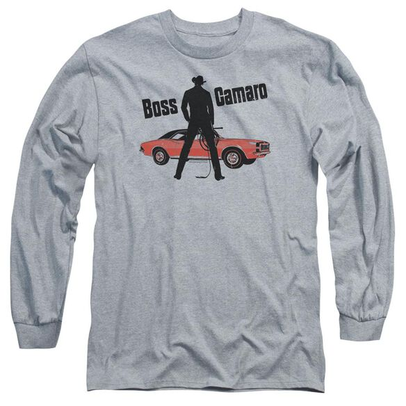 Chevrolet Boss Long Sleeve Adult Athletic T-Shirt