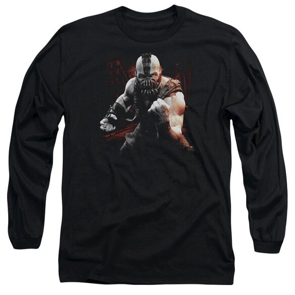 Dark Knight Rises Bane Battleground Long Sleeve Adult T-Shirt