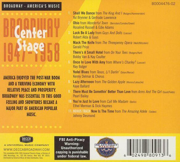 Center Stage:Broadway 194