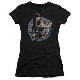 Xena The Warrior Short Sleeve Junior Sheer T-Shirt