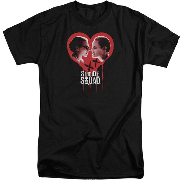Suicide Squad Joker Spits Game Short Sleeve Adult Tall T-Shirt