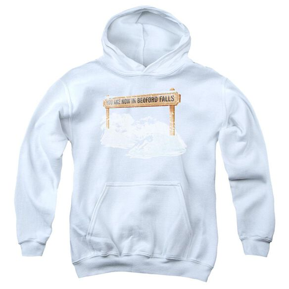 Its A Wonderful Life Bedford Falls Youth Pull Over Hoodie