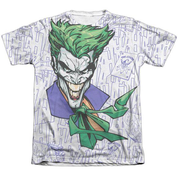 Batman Laugh Clown Laugh Adult 65 35 Poly Cotton Short Sleeve Tee T-Shirt