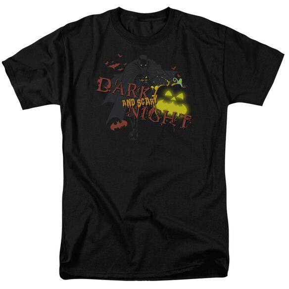 Batman Dark And Scary Night Short Sleeve Adult T-Shirt