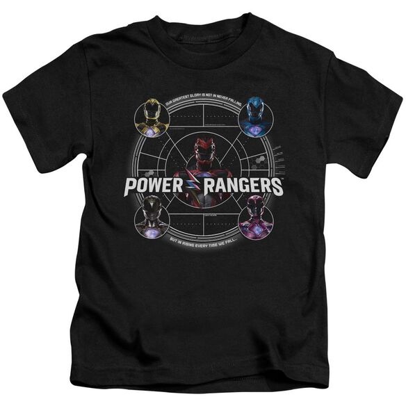 Power Rangers Greatest Glory Short Sleeve Juvenile T-Shirt