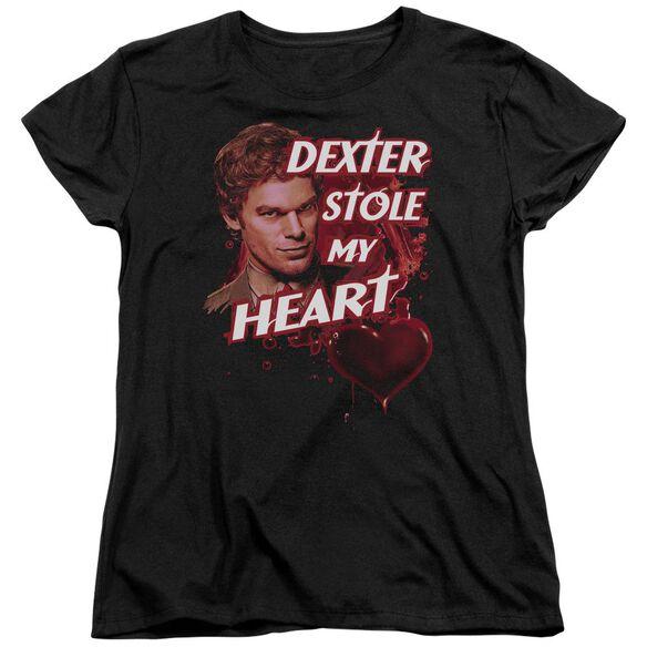 Dexter Bloody Heart Short Sleeve Womens Tee T-Shirt