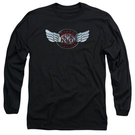 Reo Speedwagon Rendered Logo Long Sleeve Adult T-Shirt