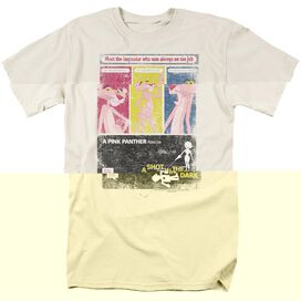 PINK PANTHER SHOT IN THE DARK - S/S ADULT 18/1 - CREAM T-Shirt
