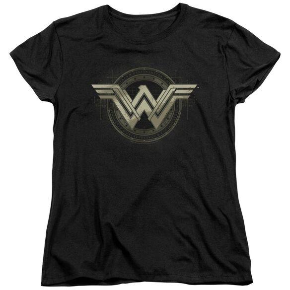 Batman V Superman Ancient Emblems Short Sleeve Womens Tee T-Shirt
