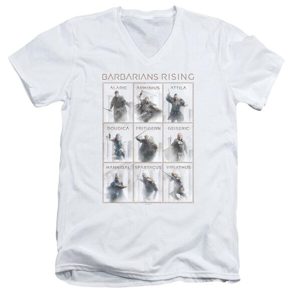 Barbarians Rising Nine Short Sleeve Adult V Neck T-Shirt