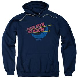 Moon Pie Reach For The Moon Adult Pull Over Hoodie