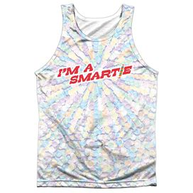 Smarties Candy Explosion Adult 100% Poly Tank Top
