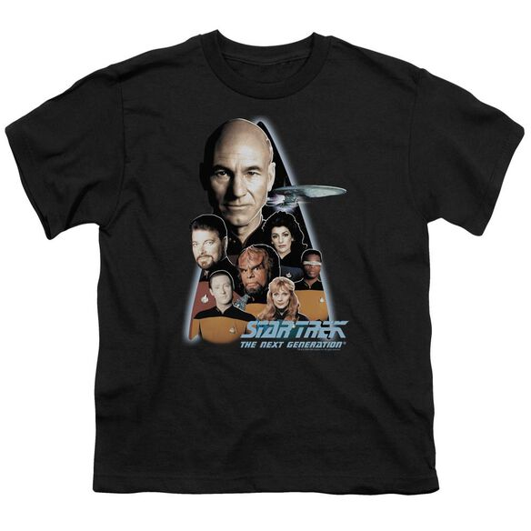 Star Trek The Next Generation Short Sleeve Youth T-Shirt
