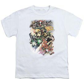 Jla Brightest Day #0 Short Sleeve Youth T-Shirt