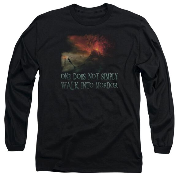 Lor Walk In Mordor Long Sleeve Adult T-Shirt