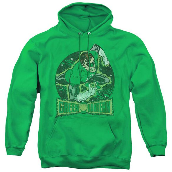 Dc In The Spotlight - Adult Pull-over Hoodie - Kelly Green
