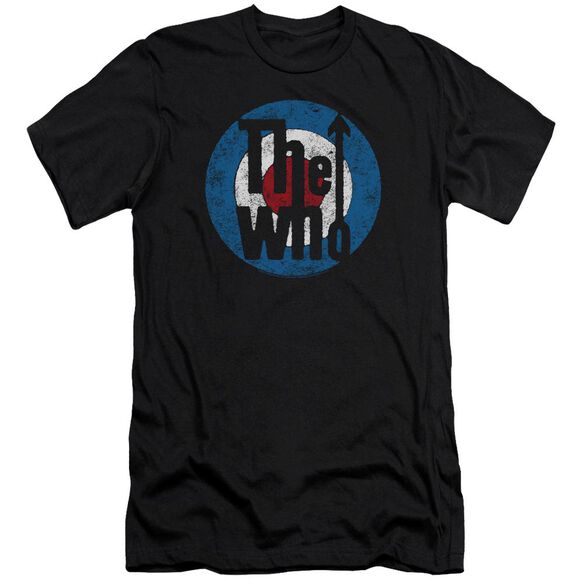 The Who Distressed Target Hbo Short Sleeve Adult T-Shirt