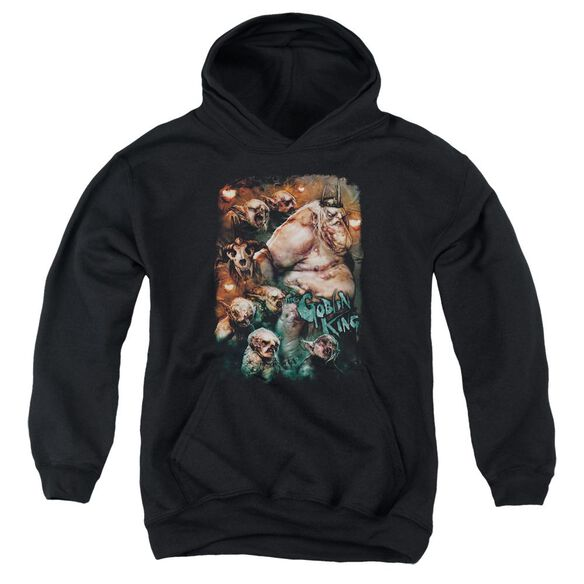 The Hobbit Goblin King Youth Pull Over Hoodie