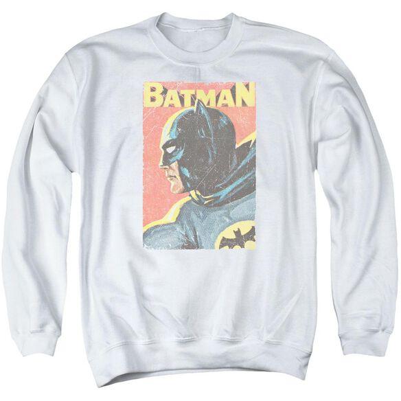 Batman Classic Tv Vintman Adult Crewneck Sweatshirt