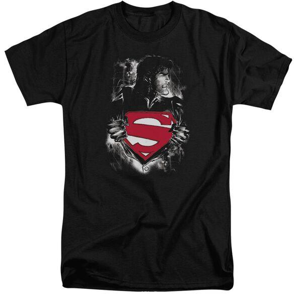 Superman Darkest Hour Short Sleeve Adult Tall T-Shirt