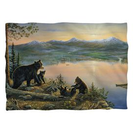 Wild Wings Serenity At Twilight 2 (Front Back Print) Pillow Case White