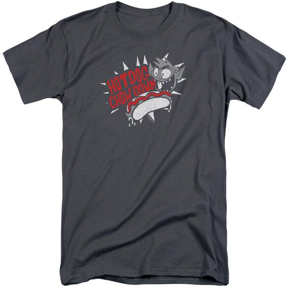 Teen Titans Go Hot Dog Short Sleeve Adult Tall T-Shirt