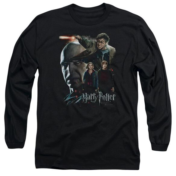 Harry Potter Final Fight Long Sleeve Adult T-Shirt
