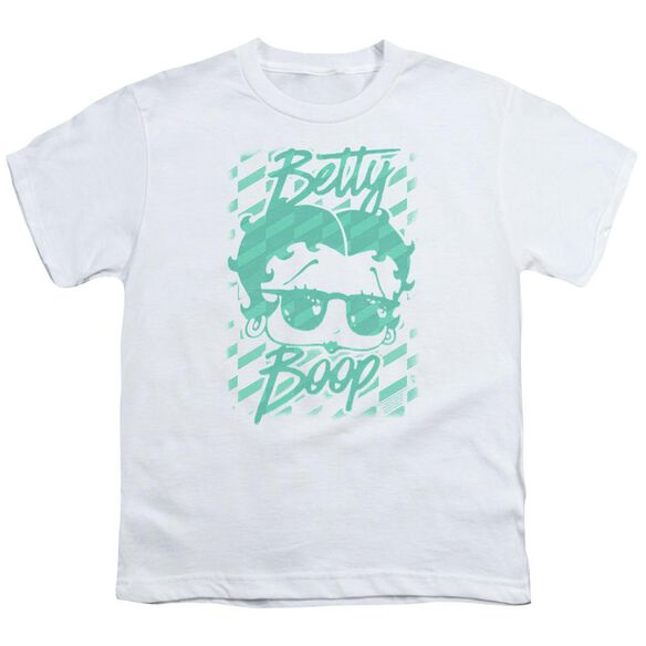 Betty Boop Summer Shades Short Sleeve Youth T-Shirt