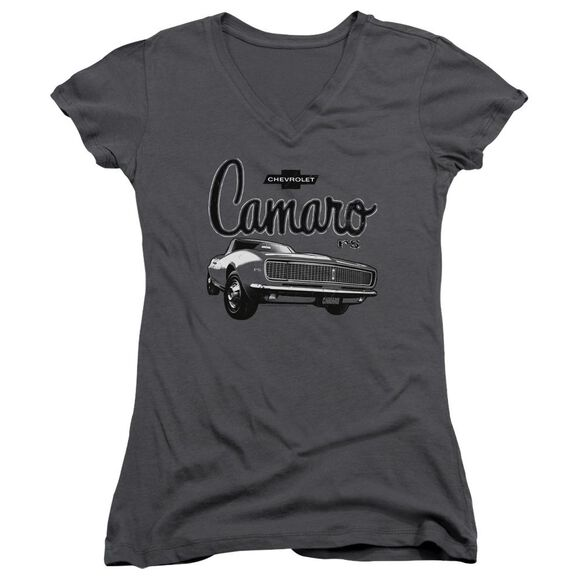 Chevrolet Script Car Junior V Neck T-Shirt