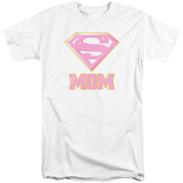 Superman Super Mom Pink Short Sleeve Adult Tall T-Shirt