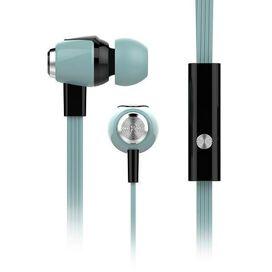 HyperGear Headphone 3.5mm In-Ear Headset with Mic Earphone (Pastel Teal)