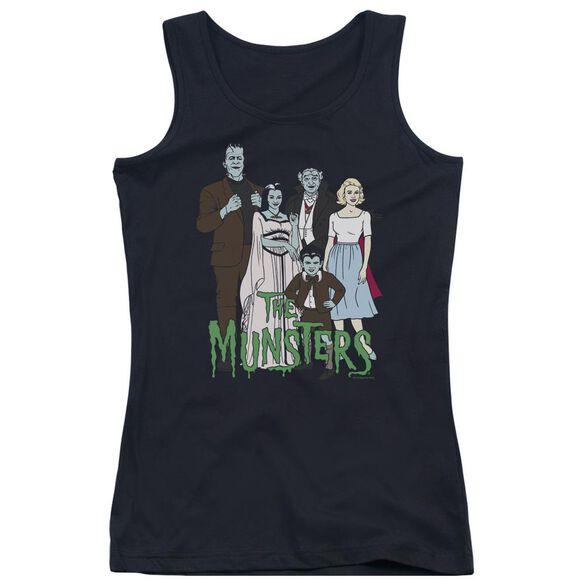The Munsters The Family Juniors Tank Top