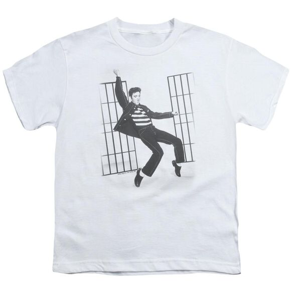 Elvis Jailhouse Rock Short Sleeve Youth T-Shirt