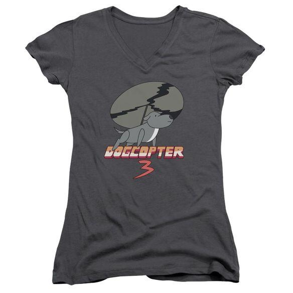 Steven Universe Dogcopter 3 Junior V Neck T-Shirt