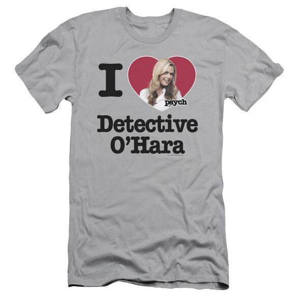 Psych I Heart O'hara Short Sleeve Adult T-Shirt