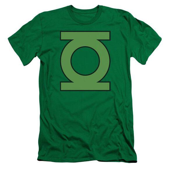 Dc Gl Emblem Short Sleeve Adult Kelly T-Shirt