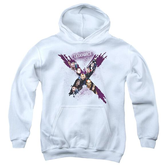 Suicide Squad Taskforce Youth Pull Over Hoodie