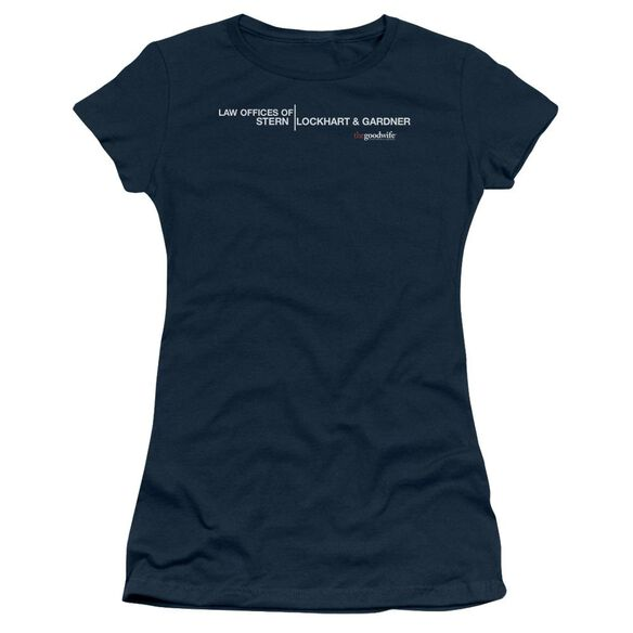 The Good Wife Law Offices Short Sleeve Junior Sheer T-Shirt