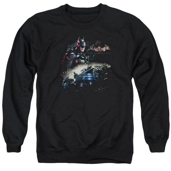 Batman Arkham Knight Knight Rider Adult Crewneck Sweatshirt