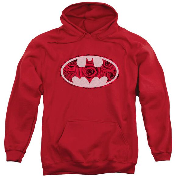 Batman Rosey Signal Adult Pull Over Hoodie