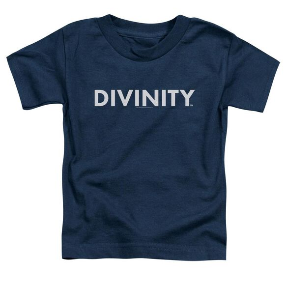 Valiant Divinity Logo Short Sleeve Toddler Tee Navy T-Shirt