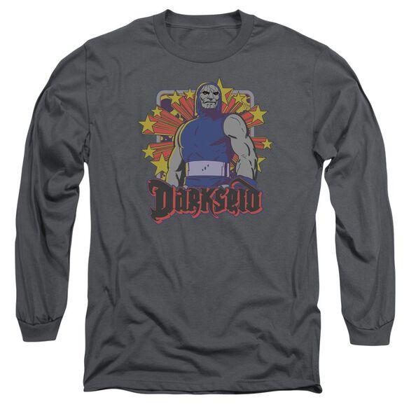 Dc Darkseid Stars Long Sleeve Adult T-Shirt