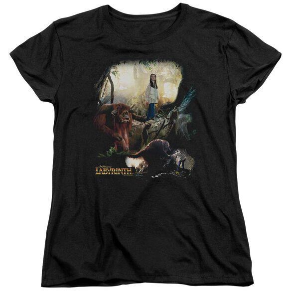 Labyrinth Sarah & Ludo Short Sleeve Womens Tee T-Shirt