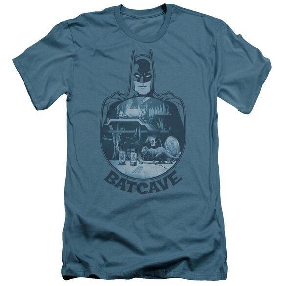 Batman Batcave Short Sleeve Adult T-Shirt
