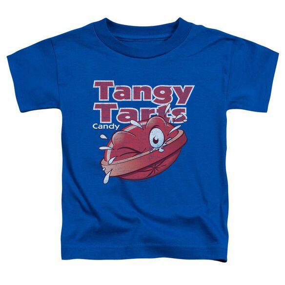Dubble Bubble Tangy Tarts Short Sleeve Toddler Tee Royal Blue Sm T-Shirt