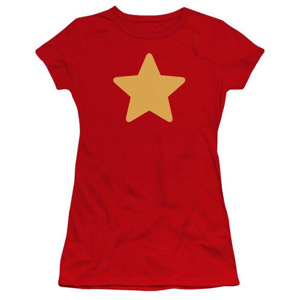 Steven Universe Star Hbo Short Sleeve Junior Sheer T-Shirt